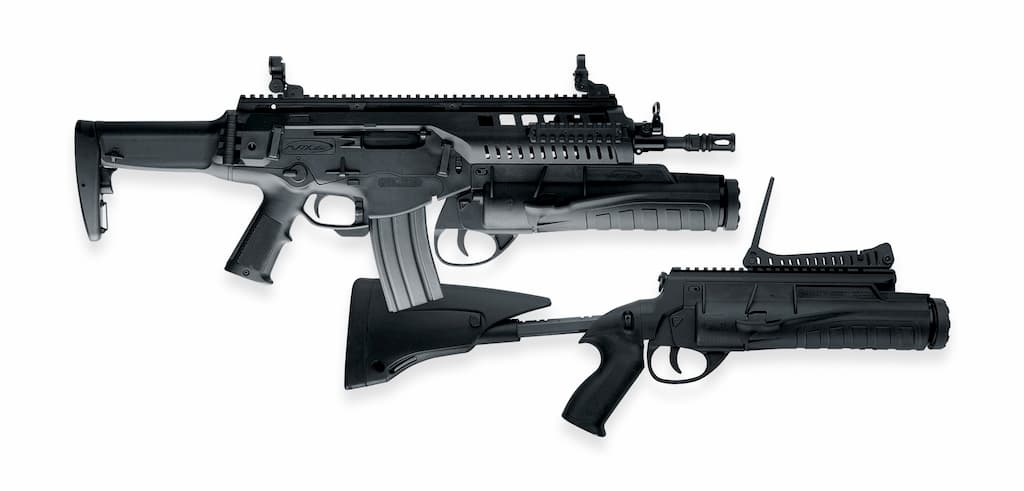 GLX160 A1|20式小銃と合わせて採用されたグレネードランチャー
