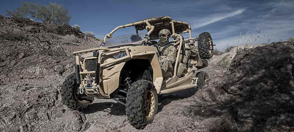 LTATV|特殊部隊用の軽戦術全地形車両