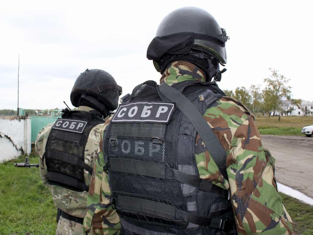 SOBR|ロシアの緊急対応特殊部隊