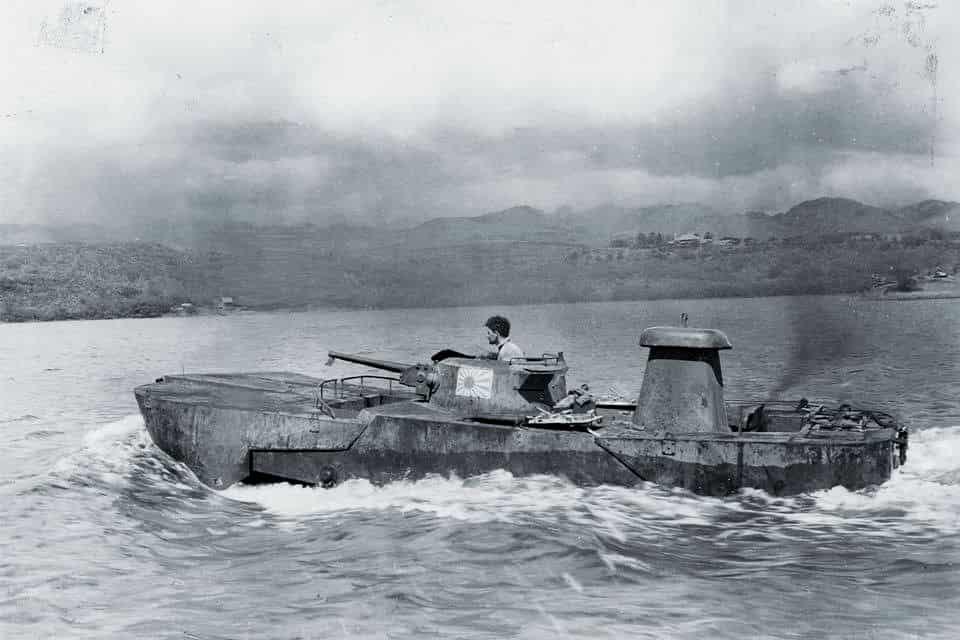 特二式内火艇カミ|かつて日本で開発された水陸両用車