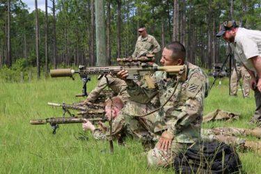 米陸軍に新しいマークスマンライフルM110A1が配備