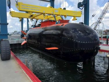 """SEALsの新しい潜水艇""""ドライコンバットサブマースィブル(DCS)"""""""