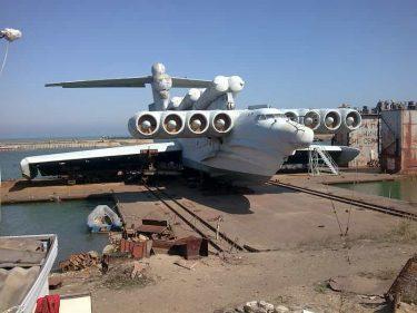 エクラノプラン|カスピ海の怪物と呼ばれた地面効果翼機が復活する
