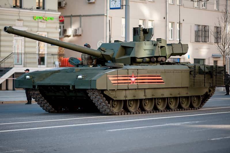 ロシアがT-14アルマータ戦車を国外にも販売する