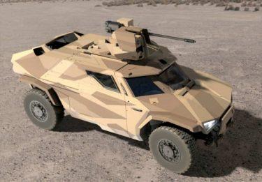 次世代の装甲車Arquus Scarabee(スカラベ)
