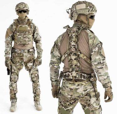 相撲をヒントに開発!?兵士のパワーを上げるUPRISE戦術外骨格