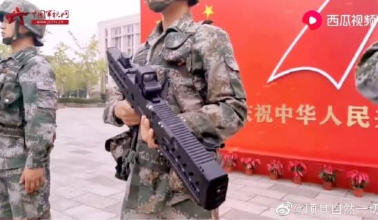 中国人民解放軍がレールガン小銃を公表