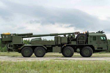 """ロシアが新しい自走砲""""2S43 Malva 152mm自走榴弾砲""""を発表"""