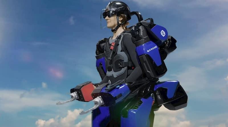 米軍が検討するパワードスーツSarcos Guardian XO
