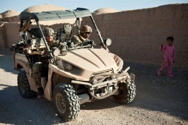 米軍特殊部隊も採用したカワサキのLTATV「TERYX」