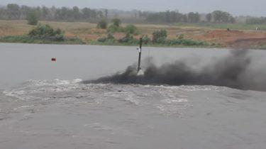 ロシア連邦軍はT-72B3戦車が河川を潜水横断する映像公開