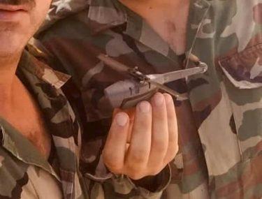 シリア軍が米軍のスパイドローン「ブラックホーネット」を捕獲