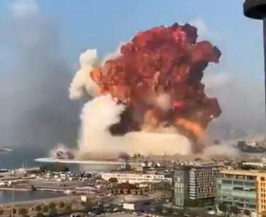 レバノン、ベイルートの爆発はイスラエルの仕業なのか?