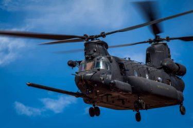 特殊部隊仕様のチヌークヘリMH-47G