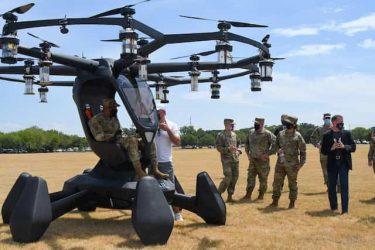 米空軍はeVTOL(電動垂直離着陸型航空機)の導入を検討しています
