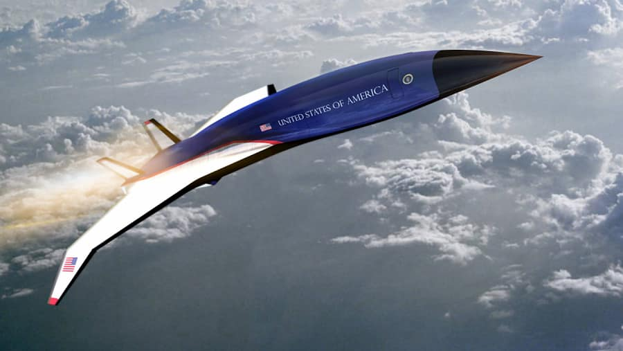 大統領専用機エアフォースワンはマッハ5の音速飛行機になります