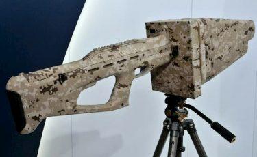 特徴的なフォルムの対ドローン兵器「Pishchal-PRO」