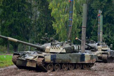 ロシアの主力戦車(MBT)の数が明らかに!?その数は?