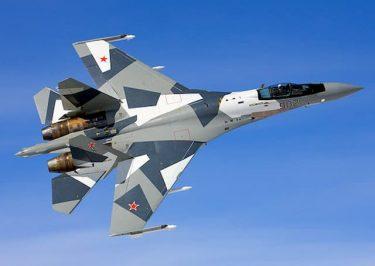 パイロットが緊急脱出するもSu-35は数分間無人のまま飛行を続けました