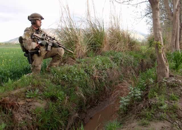 アメリカ陸軍特殊部隊デルタフォースに所属するトーマス・パトリック・ペイン曹長