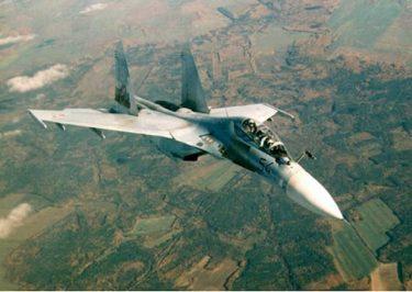 武装解除を忘れた演習中のロシアSu-35戦闘機が誤ってSu-30を撃墜