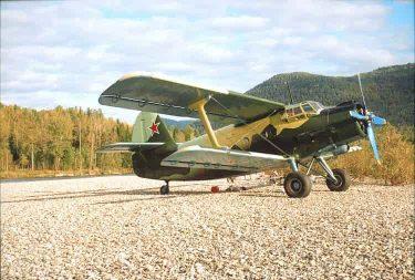 アントノフAn-2は現役で活躍する軍用複葉機です
