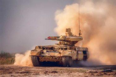 ターミネーターと呼ばれるロシアの戦車護衛車両BMPT