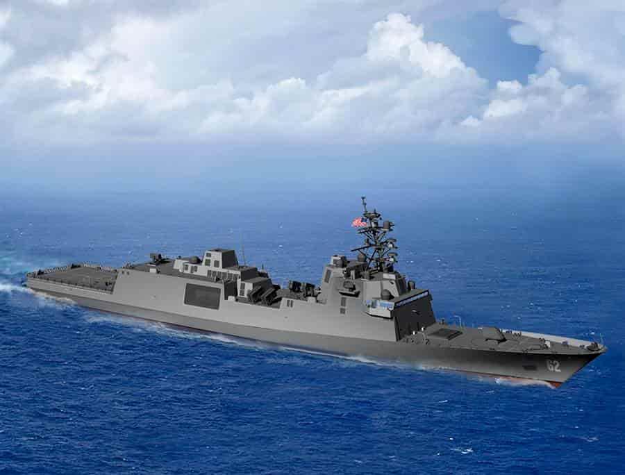 米海軍の新しいFFG(X)の艦級がコンステレーション級に決定