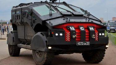 スペツナズ専用の市街地型装甲車ファリカトゥス