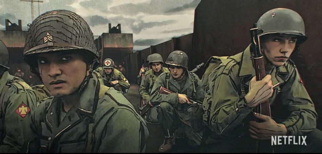 第二次大戦を描いたネットフリックスの新作アニメ「ザ・リベレーター」