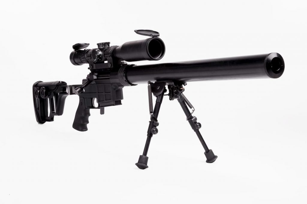 DVL-10|サイレントな軽量狙撃銃