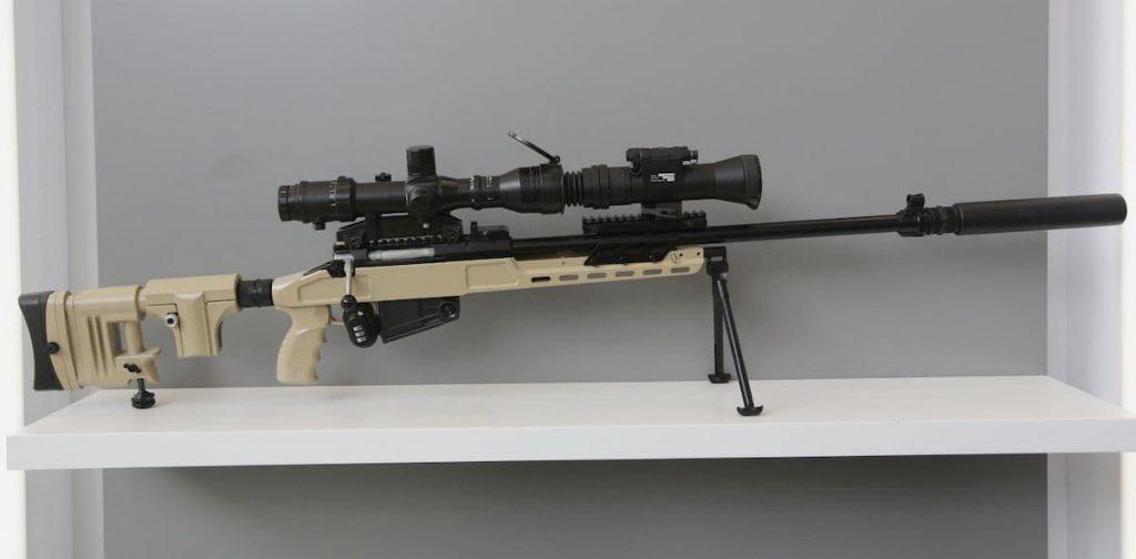 ロシア東部軍の諸兵科連合にSV-98M狙撃銃が配備
