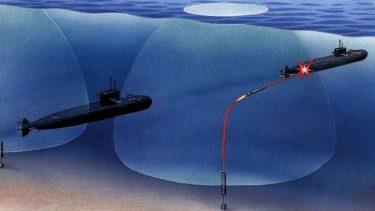 海底に潜む無人魚雷システム「ハンマーヘッド」
