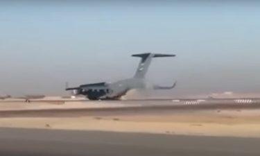 C-17グローブマスター輸送機が胴体着陸!その結末は?