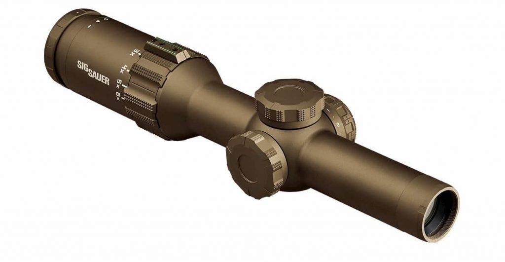 米陸軍はM4A1用の新しい光学照準器にSIGのDVOを採用
