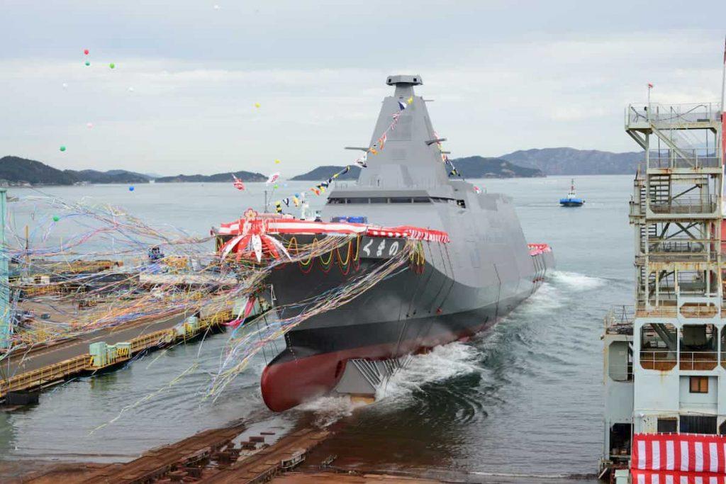 海上自衛隊の新鋭護衛艦「くまの」はステルス艦