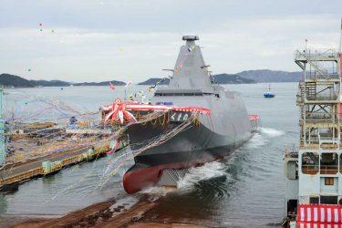 海上自衛隊の新鋭護衛艦「くまの」はステルス艦です
