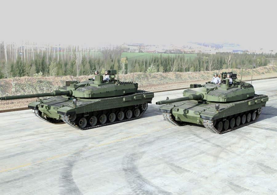 トルコはアルタイ主力戦車の欠陥で韓国に助けを求めます