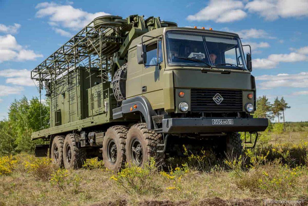 ロシアの移動式ステルスキラー「PRIMA P-18-2」