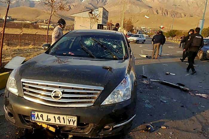 イランの核科学者を暗殺したのは遠隔操作された機関銃だった