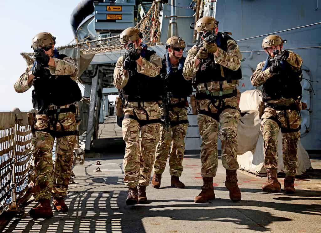 イギリス王室海兵隊(ロイヤルマリーン)