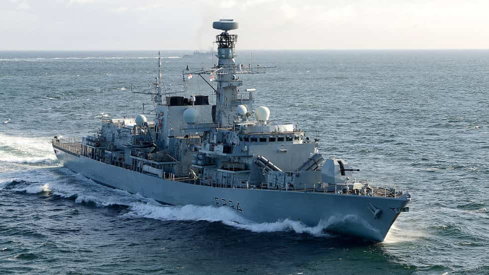 23型フリゲート艦