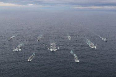 イギリス海軍が空母打撃群の初期運用能力の達成を宣言