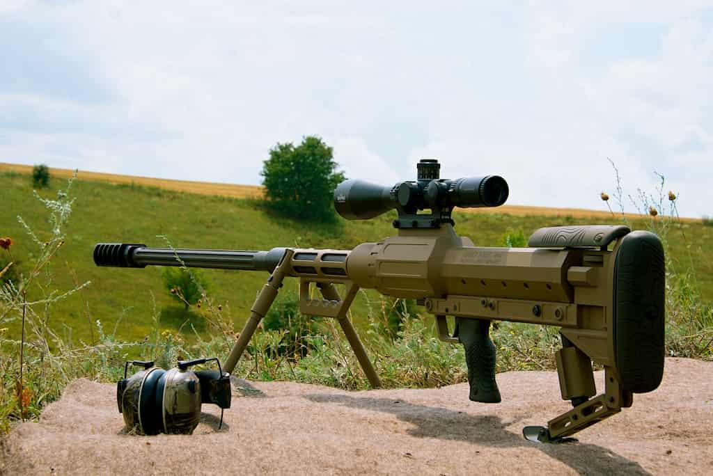 ウクライナ軍は新しい対物ライフルとしてSnipexを選択する