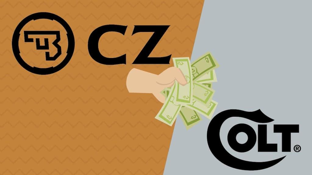 チェコのCZ社がコルト社の買収を計画
