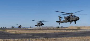 米陸軍の偵察大隊がアパッチヘリの最新版AH-64E V6を最初に受領