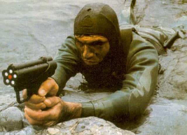 何十年も秘密にされたH&K P11水中銃