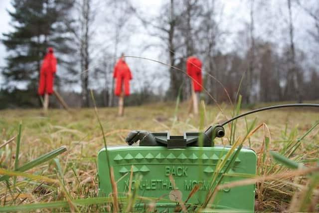 非致死性クレイモア地雷「M5 MCCM」