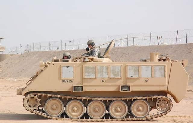 M-113装甲兵員輸送車