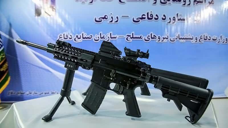 イランが新しい小銃Masaf(マサフ)を発表
